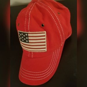 Red U.S Polo Cap